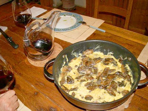 chambre-hote-nature-les3vignobles-Omelette